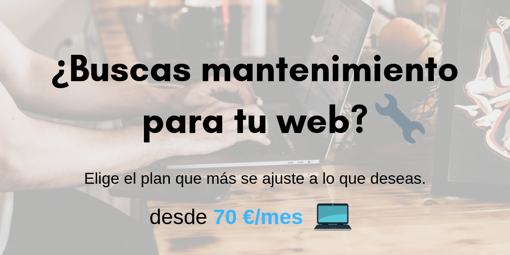 mantenimiento web madrid